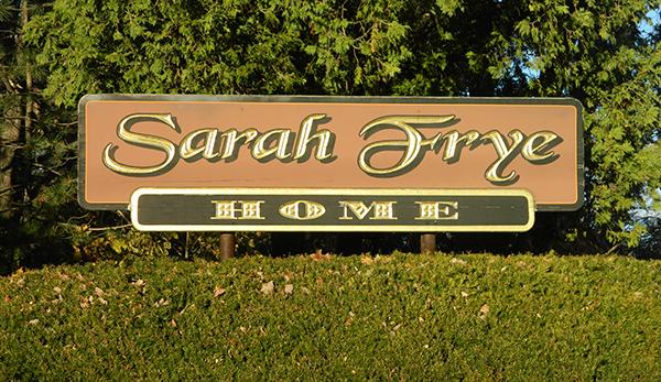 Contact Sarah Frye Home